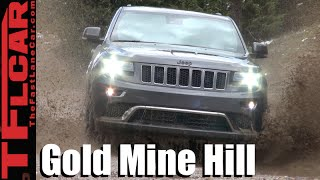 2016 Jeep Grand Cherokee EcoDiesel Takes on the Gold Mine Hill Off-Road Review
