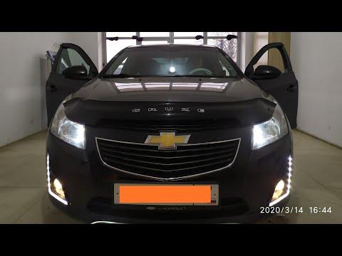 Chevrolet Cruze установка противотуманных фар и ходовых огней