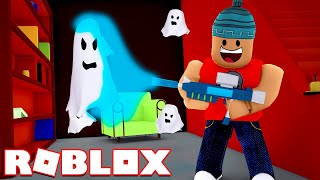 GHOSTS IN CONSTRUCTION ABANDONED l Ghost Simulator Roblox