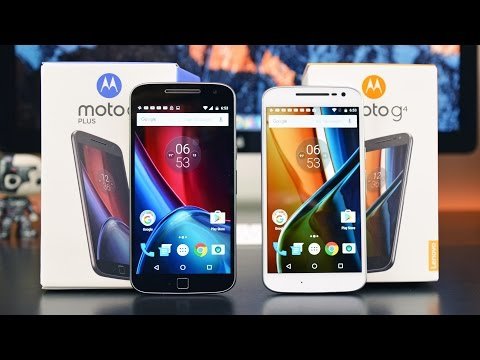 Moto G4 vs G4 Plus: Unboxing & Review