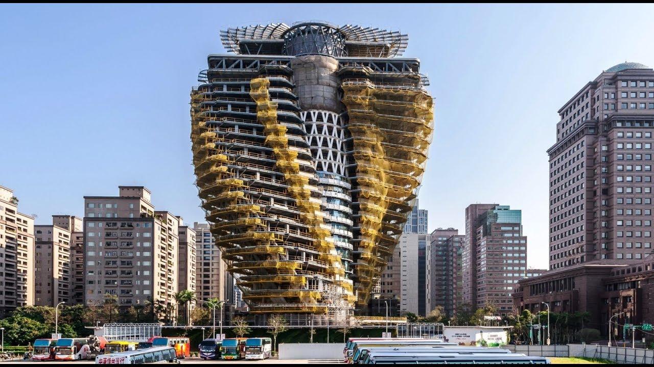 TOP 10 Edificios Futuristas Más Asombrosos Del Mundo