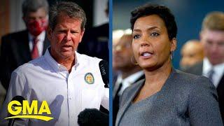 Georgia governor sues Atlanta mayor over mask mandate l GMA