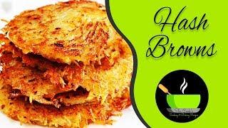 Hash browns | Classic Hash Browns Recipe | Crispy, Crunchy, Golden Hash Browns Recipe