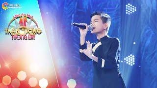 """Thần tượng tương lai   Tập 1: Cậu bé Huỳnh Phúc da diết với ca khúc """"Thương mẹ"""""""