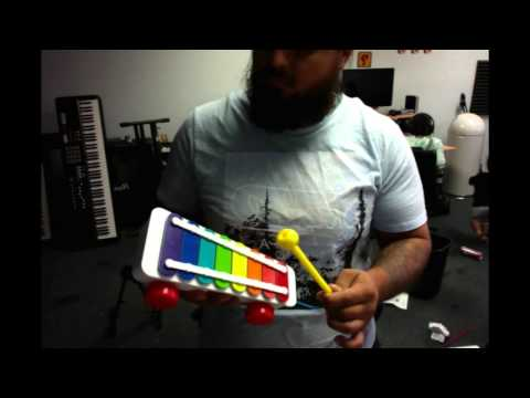 How many rap songs can you play on a kid's xylophone?