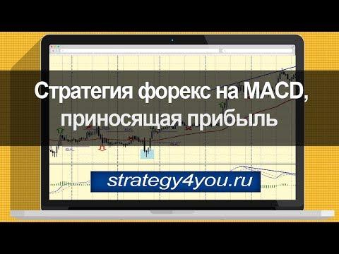Стратегия форекс на MACD, приносящая прибыль