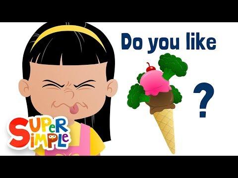 Do You Like Broccoli Ice Cream?   Super Simple Songs - Как поздравить с Днем Рождения