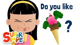 Do You Like Broccoli Ice Cream? | Super Simple Songs thumbnail