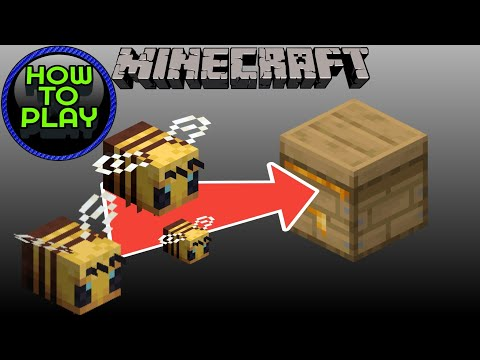 How To Get Bees Into Your Beehive Minecraft - Java Edition