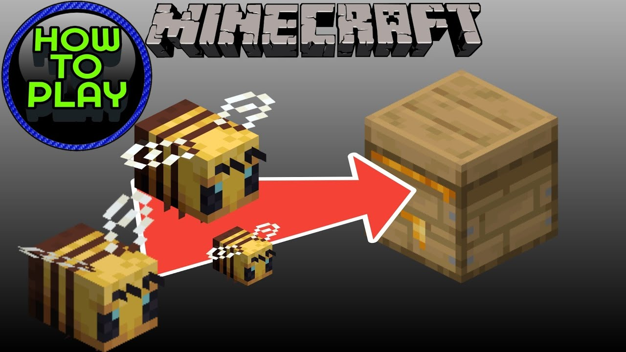 How To Get Bees Into Your Beehive in Minecraft