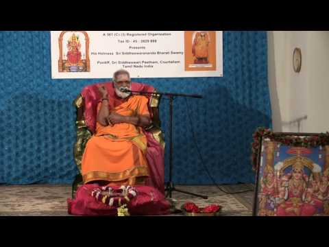 Courtallam Swamiji October 23  2015   Hanuman Temple Frisco