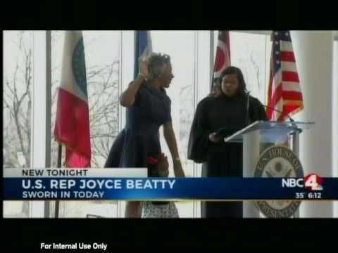 NBC4 - Beatty Holds Ceremonial Swearing-in to the 115th Congress