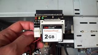 convertir memoria compact flash cf en disco duro ide booteable