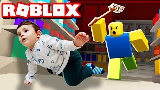 💚MY SON CATCHING YAHYA / ROBLOX PET ESCAPE / Roblox Real Life