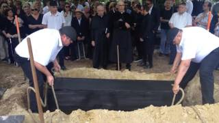 Somló Tamás temetése