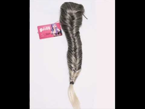 Ponytail / Clip In Fishtail Plait Hairpieces Collection  Tel - 07868449674