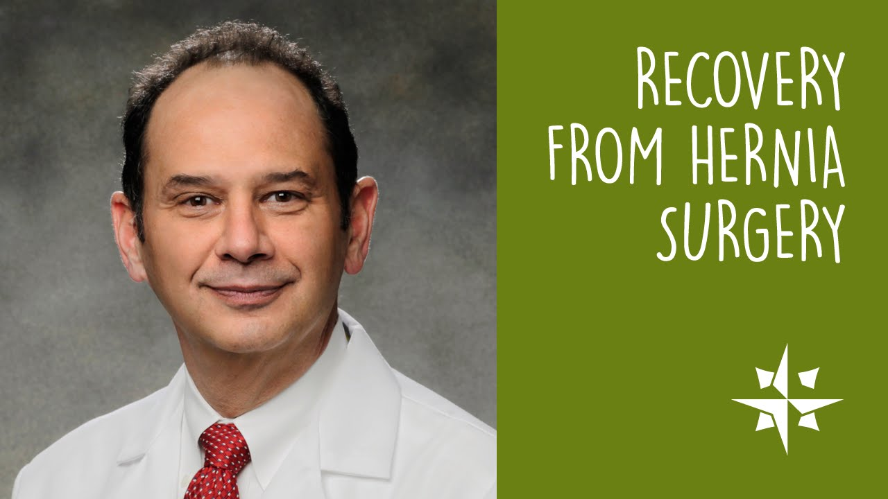 Recovery from Hernia Surgery | Advanced Surgical Partners of