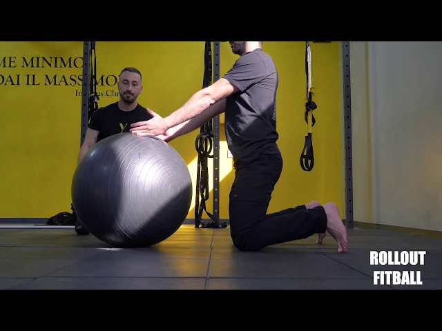 FitBall Roll out. Esecuzione e tecnica
