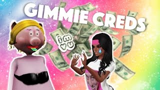 HARASSING PEOPLE ON IMVU FOR CREDITS