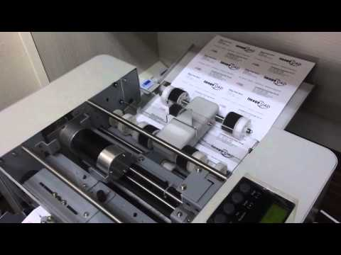 Our New Fully Automated Name Card Cutter