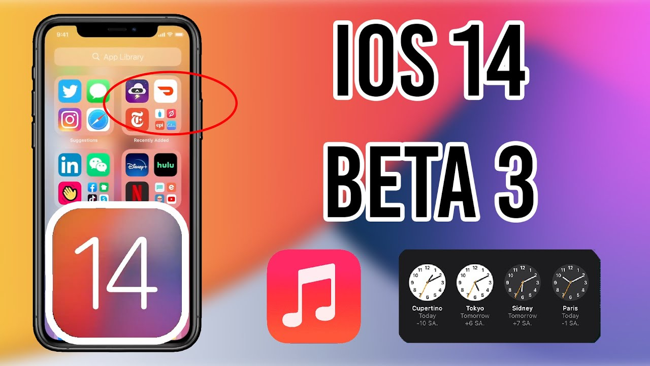 IOS 14 BETA 3 ÇIKTI !