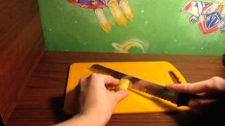 Как порезать лимон