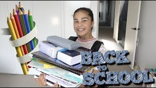 Packing My Backpack for Back to School | Grace