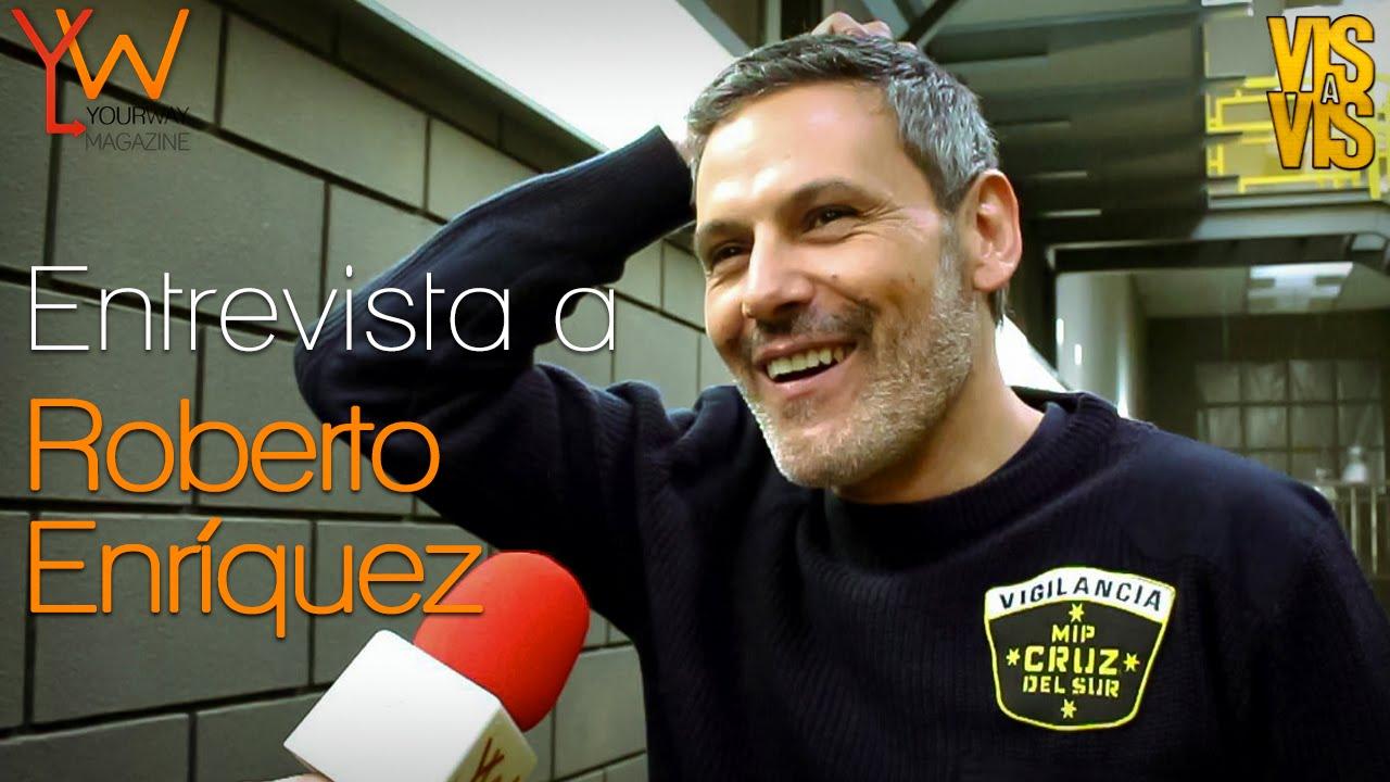 Vis A Vis T2 Entrevista A Roberto Enríquez Fabio Cruzará Líneas Que Le Podrían Costar La Vida Youtube