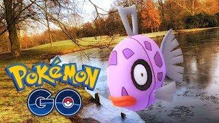 CATCHING *SHINY FEEBAS* IN POKÉMON GO! - Limited Research Pokémon GO Event