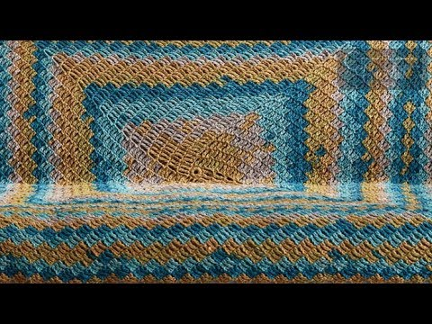 How to Crochet an Afghan: 🍰  Stacking Blocks