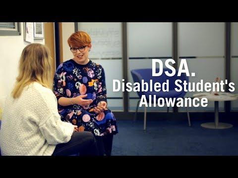 DSA. Disabled Student's Allowance - University Of Sunderland