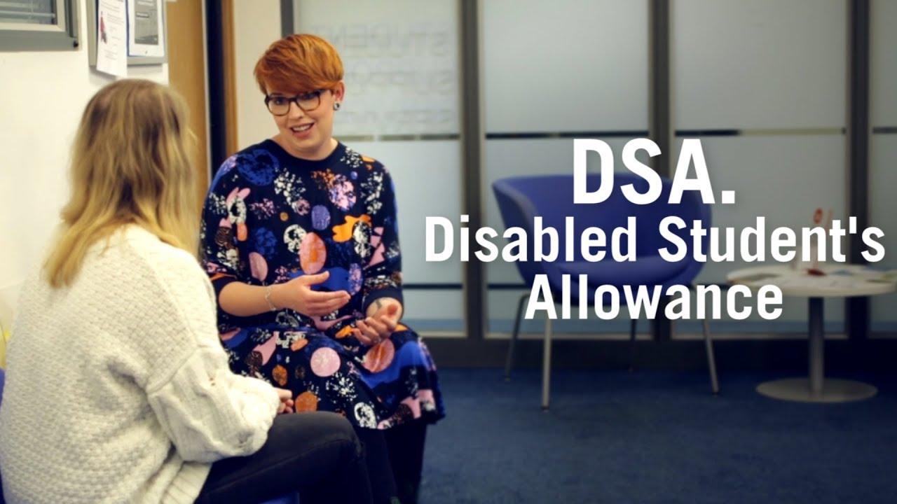DSA  Disabled Student's Allowance - University of Sunderland