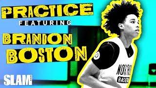 "Brandon Boston is the GOAT Teammate: ""THAT'S MY SON"" 😂 | SLAM Practice Video"