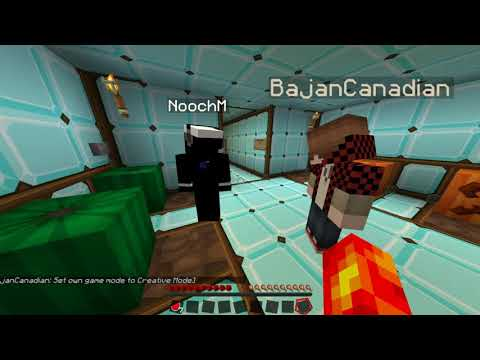 """Abducted by the Taco!"" Minecraft Adventure Map: Part 1 - w/Bajan & Nooch"