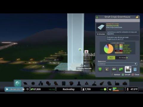 Cities: Skylines Rockvalley Industries DLC |