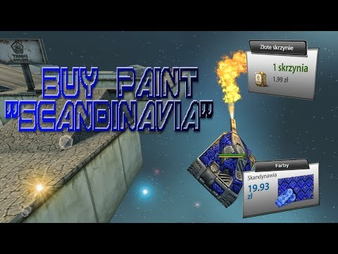 "TANKI ONLINE: Buy paint ""scandinavia"" |+ ""gold box""|"