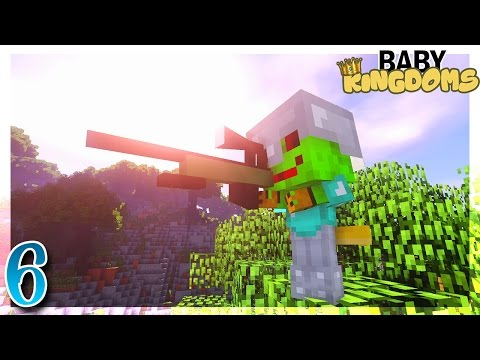 UN BÉBÉ SNIPER ENNEMI ? | Baby Kingdoms #6 - Minecraft FK Moddé