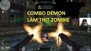 Bình Luận Truy Kích   Combo của QUỶ vs Zombie ✔