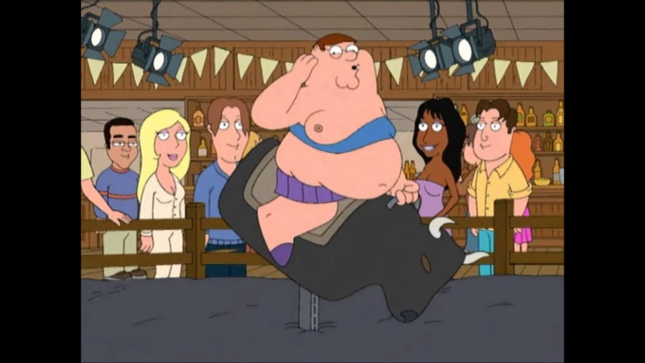 maxresdefault family guy, peter rides the mechanical bull youtube