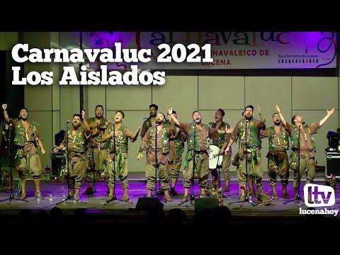 VÍDEO: Carnavaluc 2021: Actuación de la comparsa 'Los Aislados' en el Auditorio Municipal de Lucena