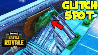 Best Glitch SPOT To Shoot Out In Fortnite Battle Royale.. (Fortnite Glitches) *Semi-God Mode*