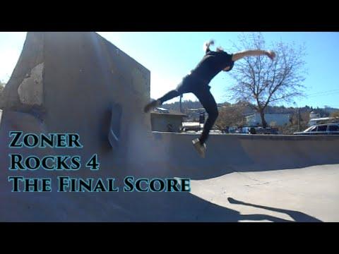 Zoner Rocks 4, The Final Score - at the Ashland, Oregon Skatepark