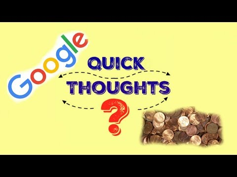 Is it Legal for Google to Shut Down? Quick Thoughts Ep. 1