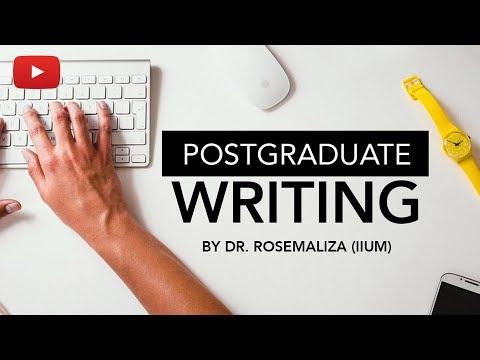 Postgraduate Writing Workshop (IIUM)