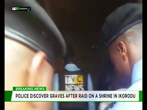 Police raid shrine in Ikorodu, discover five graves