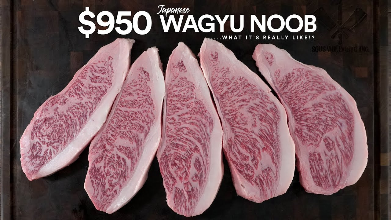 What's like EATING a $950 STEAK for the 1st Time!