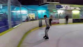 ICE SKATING FAIL!