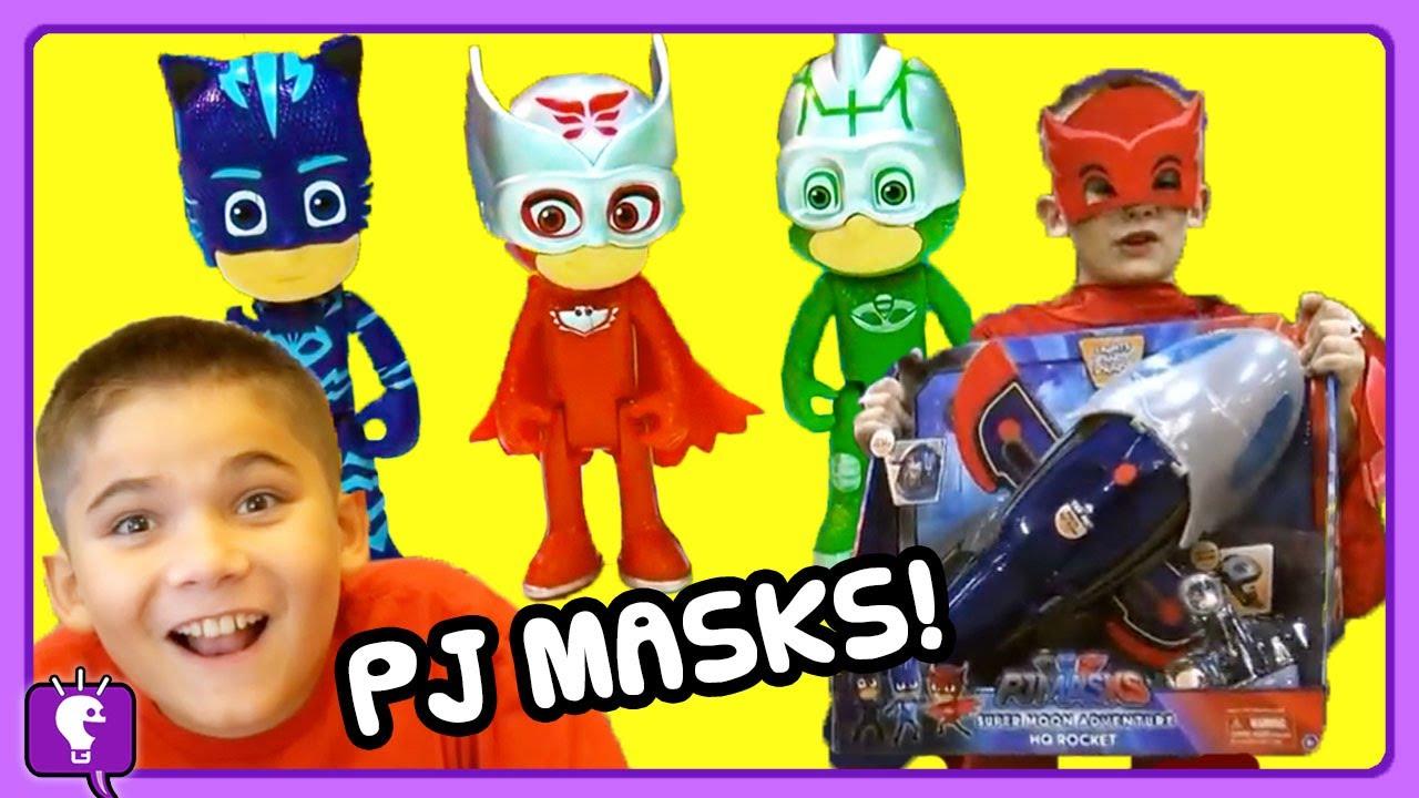 Hobbyheroes Pj Mask Toys Adventure Compilation Golden