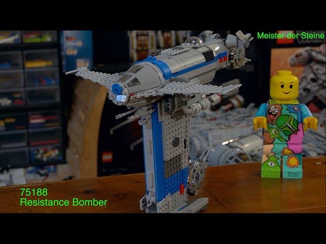 Resistance Bomber, LEGO 75188, Meister der Steine