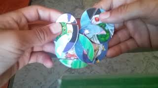 Xfera de dragon ball z 10 tazos